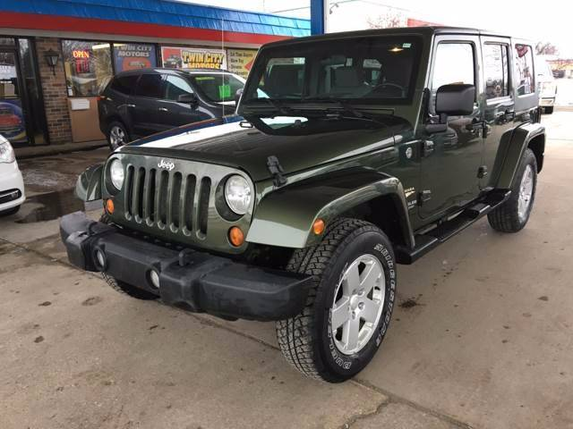 2007 Jeep Wrangler Unlimited for sale at Twin City Motors in Grand Forks ND