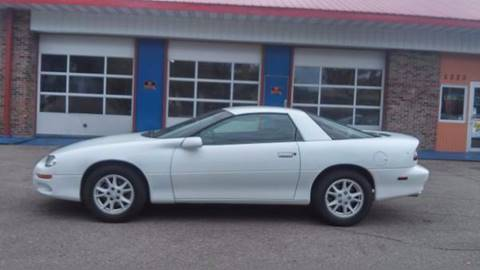 2002 Chevrolet Camaro for sale at Twin City Motors in Grand Forks ND