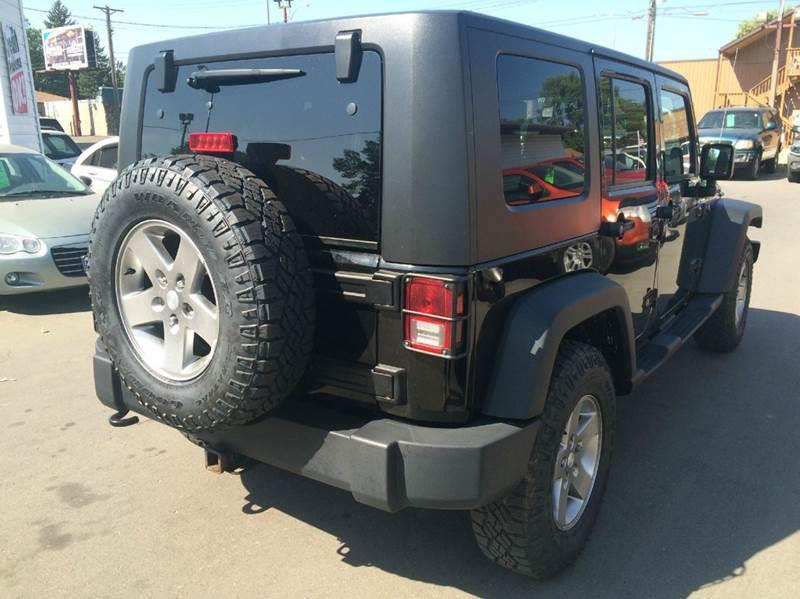 2010 Jeep Wrangler Unlimited for sale at Twin City Motors in Grand Forks ND