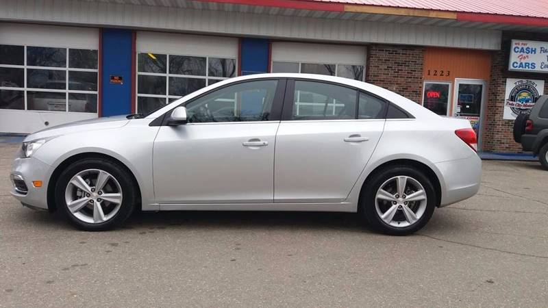 2015 Chevrolet Cruze for sale at Twin City Motors in Grand Forks ND
