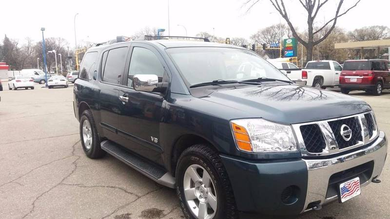 2007 Nissan Armada for sale at Twin City Motors in Grand Forks ND