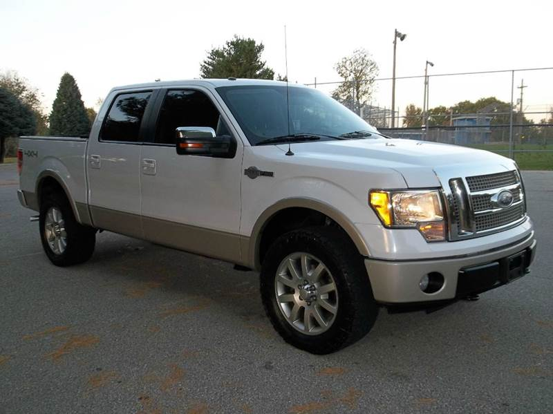 2010 Ford F-150 4x4 King Ranch 4dr SuperCrew Styleside 5 5 ft  SB In
