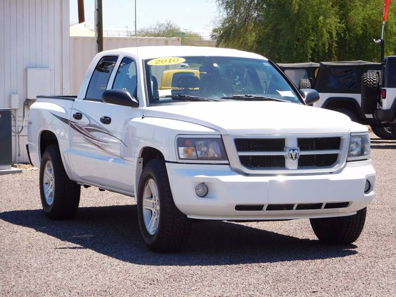 2010 dodge dakota 4x4 big horn 4dr crew cab in phoenix az. Black Bedroom Furniture Sets. Home Design Ideas