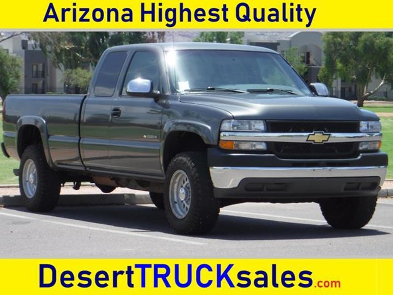 2002 Chevrolet Silverado 2500HD For Sale At Desert Trucks In Phoenix AZ