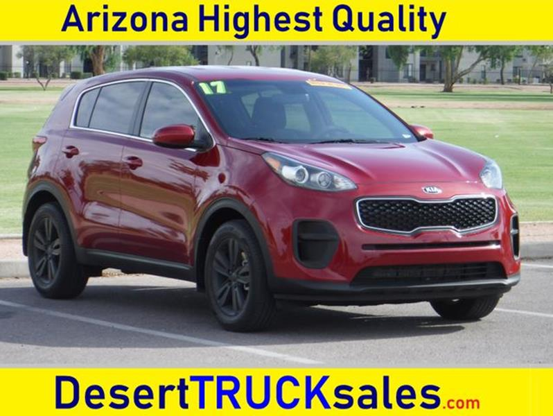 2017 Kia Sportage For Sale At Desert Trucks In Phoenix AZ