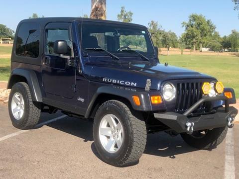 Used 2006 Jeep Wrangler For Sale in Phoenix, AZ ...
