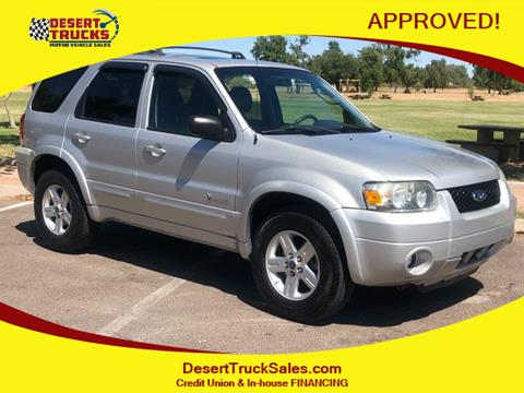 2006 Ford Escape Hybrid for sale in Phoenix, AZ