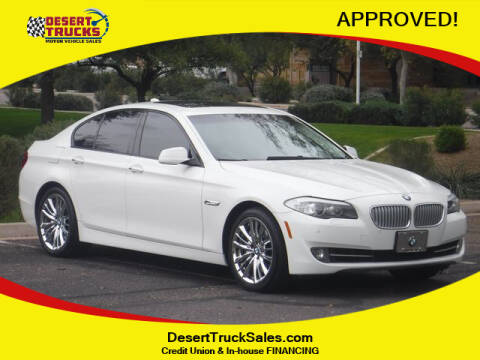 2011 BMW 5 Series 550i for sale at Desert Trucks in Phoenix AZ