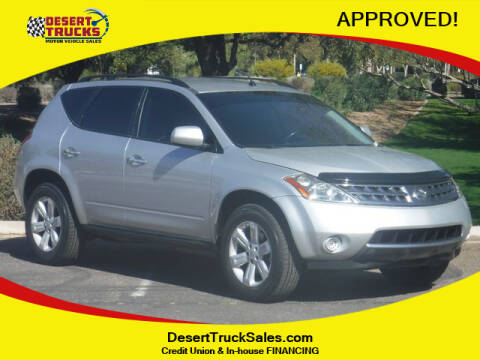2007 Nissan Murano for sale at Desert Trucks in Phoenix AZ