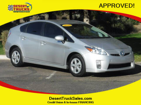 2010 Toyota Prius for sale at Desert Trucks in Phoenix AZ
