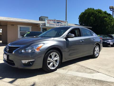2014 Nissan Altima for sale at Auto World Auto Sales in Modesto CA