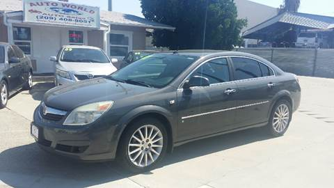 2007 Saturn Aura for sale at Auto World Auto Sales in Modesto CA