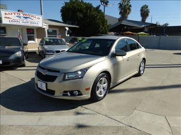2011 Chevrolet Cruze for sale at Auto World Auto Sales in Modesto CA