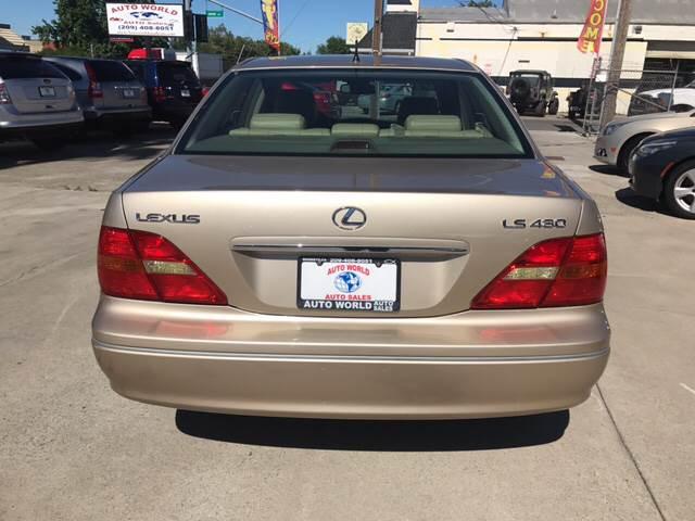 2001 Lexus LS 430 for sale at Auto World Auto Sales in Modesto CA