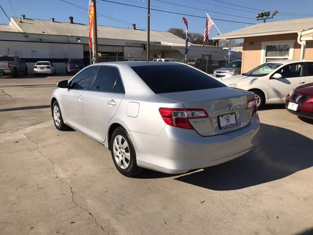 2013 Toyota Camry for sale at Auto World Auto Sales in Modesto CA