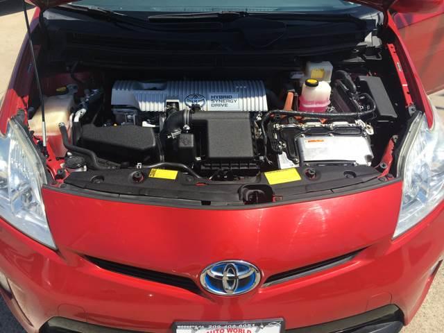 2012 Toyota Prius for sale at Auto World Auto Sales in Modesto CA