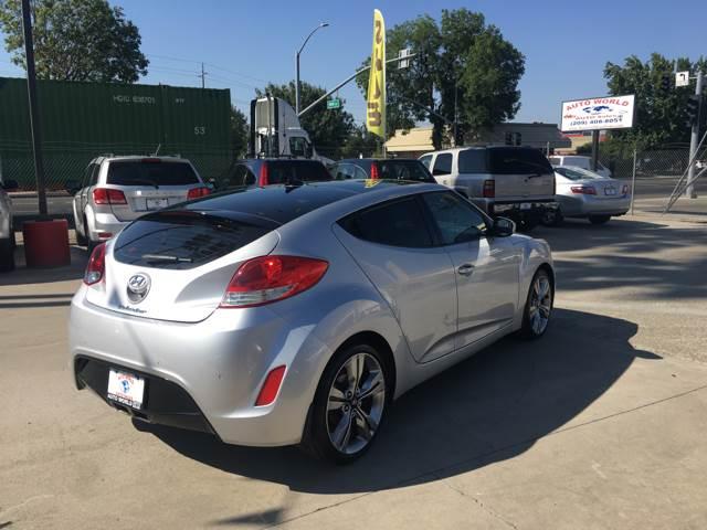 2012 Hyundai Veloster for sale at Auto World Auto Sales in Modesto CA