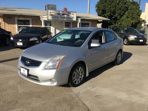 2011 Nissan Sentra for sale at Auto World Auto Sales in Modesto CA