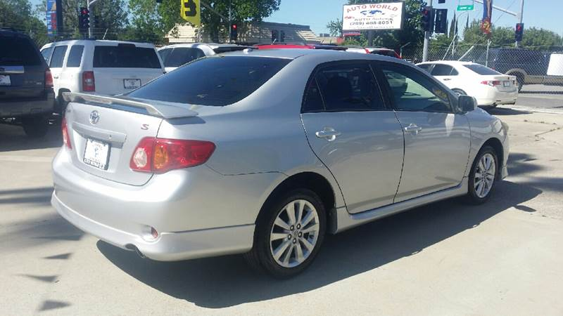 2009 Toyota Corolla for sale at Auto World Auto Sales in Modesto CA