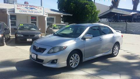 2009 Toyota Corolla for sale at Auto World Auto Sales in Modesto CA
