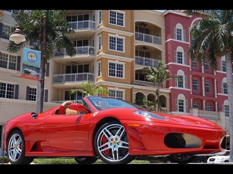 2008 Ferrari F430 Spider for sale in Naples FL