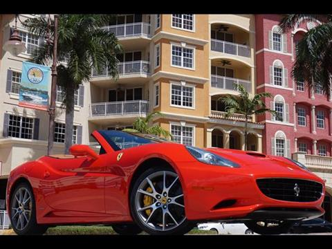 2012 Ferrari California for sale in Naples FL