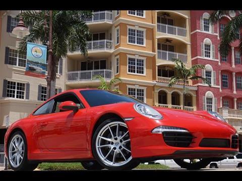 2015 Porsche 911 for sale in Naples, FL