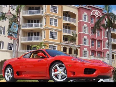 2001 Ferrari 360 Modena for sale in Naples, FL