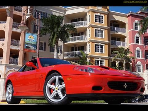 2002 Ferrari 575M for sale in Naples, FL