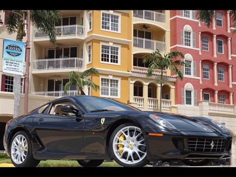 2009 Ferrari 599 GTB Fiorano for sale in Naples, FL