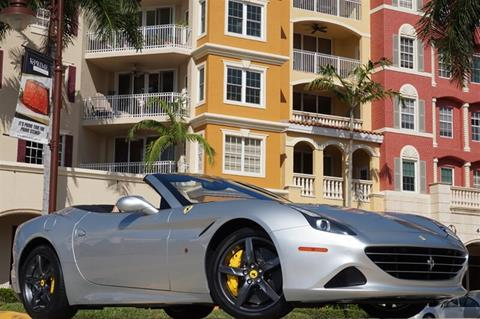 2015 Ferrari California T for sale in Naples, FL