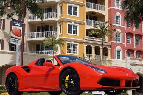 2017 Ferrari 488 Spider for sale at BLACK HORSE MOTORS in Naples FL