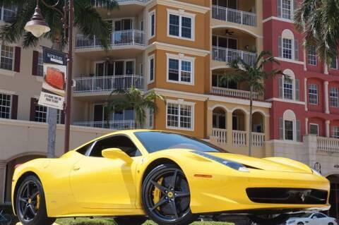 2011 Ferrari 458 Italia for sale at BLACK HORSE MOTORS in Naples FL