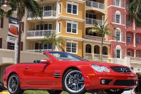 2008 Mercedes-Benz SL-Class SL 65 AMG for sale at BLACK HORSE MOTORS in Naples FL