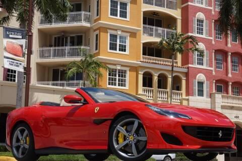 2019 Ferrari Portofino for sale at BLACK HORSE MOTORS in Naples FL