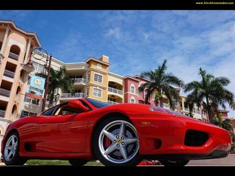2000 Ferrari 360 Challenge Stradale for sale in Naples FL