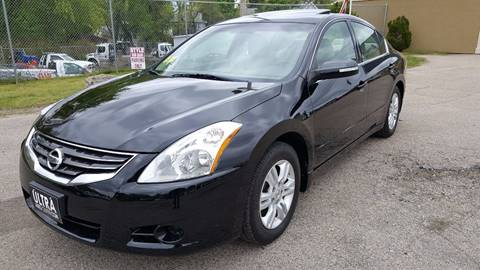 2012 Nissan Altima for sale at Ultra Auto Center in North Attleboro MA