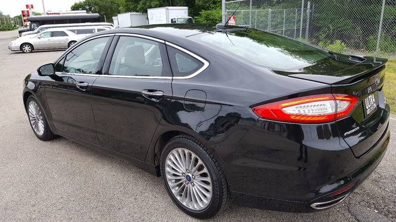 2014 Ford Fusion AWD Titanium 4dr Sedan - North Attleboro MA