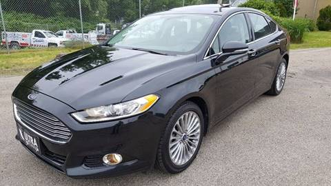 2014 Ford Fusion for sale at Ultra Auto Center in North Attleboro MA
