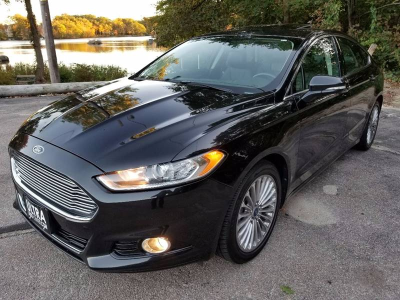2014 Ford Fusion for sale at Ultra Auto Center in North Attleboro MA