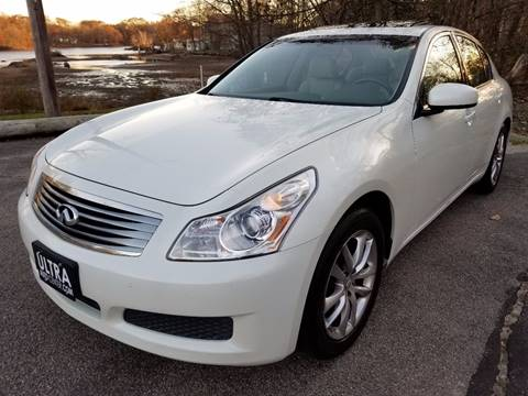 2007 Infiniti G35 for sale at Ultra Auto Center in North Attleboro MA
