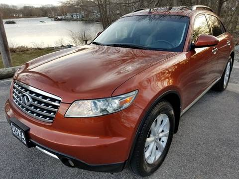 2006 Infiniti FX35 for sale at Ultra Auto Center in North Attleboro MA