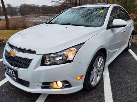 2012 Chevrolet Cruze for sale at Ultra Auto Center in North Attleboro MA