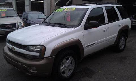 2002 Chevrolet TrailBlazer for sale at Ultra Auto Center in North Attleboro MA