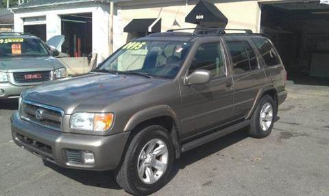 2002 Nissan Pathfinder for sale at Ultra Auto Center in North Attleboro MA