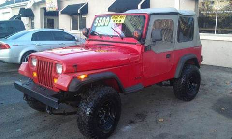 1993 Jeep Wrangler for sale at Ultra Auto Center in North Attleboro MA
