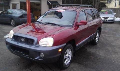 2003 Hyundai Santa Fe for sale at Ultra Auto Center in North Attleboro MA