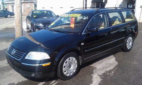 2002 Volkswagen Passat for sale at Ultra Auto Center in North Attleboro MA