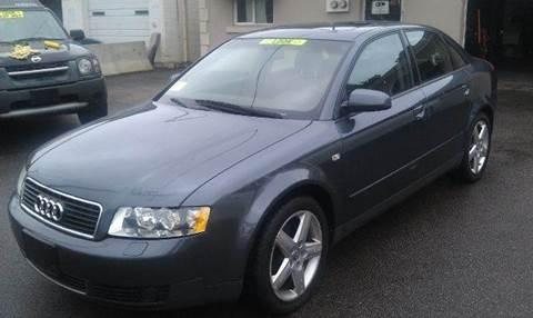 2003 Audi A4 for sale at Ultra Auto Center in North Attleboro MA