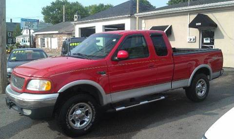 2000 Ford F-150 for sale at Ultra Auto Center in North Attleboro MA